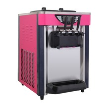 RY-BJ218S 18-20L/H Desktop Ice cream machine, 1800w electric rainbow soft ice cream maker