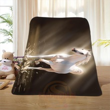 P#131 Custom Horse#40 Home Decoration Bedroom Supplies Soft Blanket size 58×80,50X60,40X50inch SQ01016@H+131