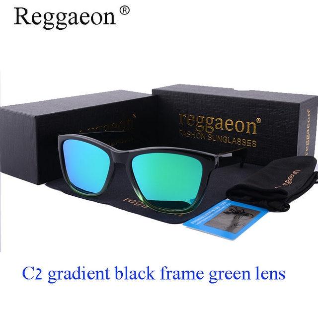c08fd3770989b Reggaeon marca de Moda óculos de Sol vermelhos Homens Polarizados Condução Pesca  Óculos De Luxo Mulheres