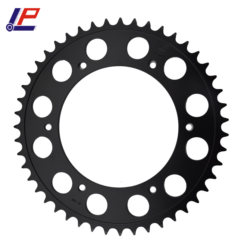 LOPOR Motorcycle Rear Sprocket 520 47T For Aprilia 650 Pegaso BMW F650 Dakar G650 GS Husqvarna