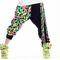 Fringe Lady Kobiety Spodnie Nowa Wiosna Biegaczy spodnie Taniec Hip Hop Mody Rozrywka Spodnie Damskie Spodnie Harem Pants Kobiet