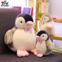 купить Plush Penguin Toy Stuffed Penguins Doll Baby Kids Girl Children Triver Birthday Christmas Gift Toys Drop Ship по цене 488.48 рублей