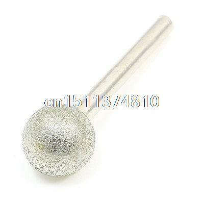 71mm Length Spherical Head Diamond Mounted Point Grinding Burr Tool