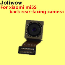 цена на back rear-facing camera For xiaomi mi5s 12 million pixels 95% NEW+ Give silicon case 1pc