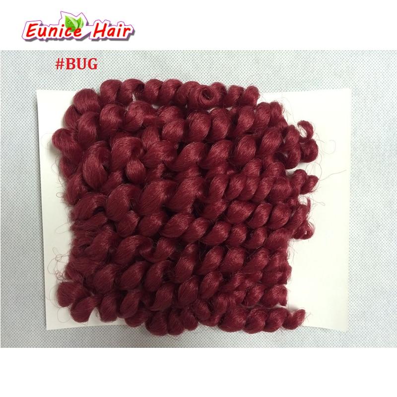 10 дюймов 20 прядей Jumpy Wand Curl Косы Волосы Ямайский Bounce Twist Вязание Крючком Косы Сенсационная Африканская Коллекция Плетение Волос