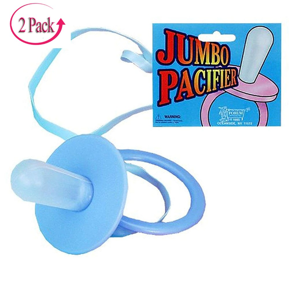 2 Pack Erwachsene Baby Dummy Große Schnuller Abdl Jumpo Schnuller