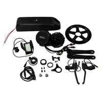 48V 750W BBS02 Bafang/8Fun mid drive electric motor kit +48V 11.6Ah Li ion ebike battery