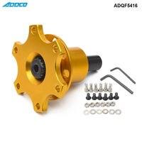 ADDCO Off Quick Release Boss Kit сваренный 6 Болт подходит для Moslty рулевого колеса ADQF5416