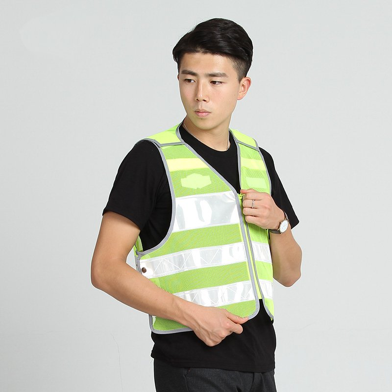 High-end traffic safety vest reflective vest reflective vest 3m Highways Traffic genuine printing