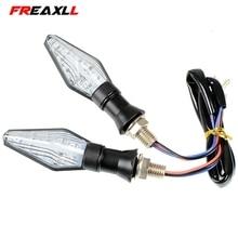 Universal Motorcycle Accessories Tail Signal  LED Turn Indicator Light For YAMAHA FZ1 FZ6 FZ8 FAZER FZ 1 6 8 2006
