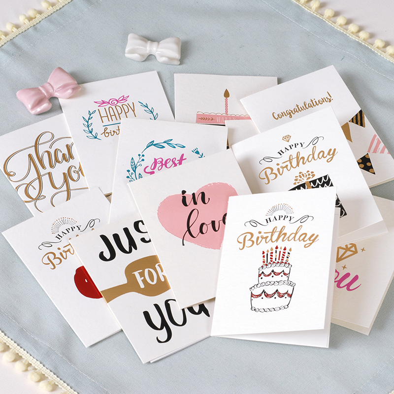 2017 дети Поздравительные открытки поздравительные открытки с днем рождения, милый металлик Спасибо карты ...