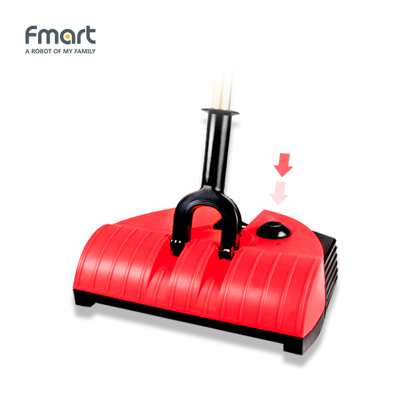 Fmart Cordless Vacuum Cleaner For Home Electric Broom Cordless Sweeper Dust Cleaners Household Cleaning Drag Sweeping FM-A310 fmart fm r150 smart robot vacuum cleaner cleaning appliances 128ml water tank wet 300ml dustbin sweeper aspirator 3 in 1 vacuums