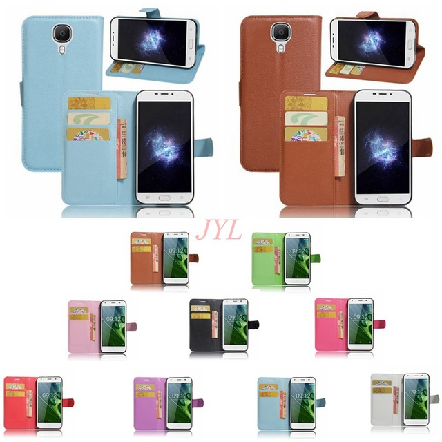 IMIDO Wallet Stand Flip Cover For Doogee X9 Pro X9Pro 5.5 inch PU Leather Magnetic With Card For Doogee X9