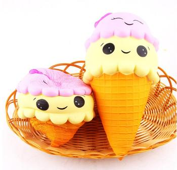 Big size Squeeze Toy 22CM Exquisite Fun Ice Cream Scented Squishy Charm Slow Rising Simulation Kid Toy Игрушка