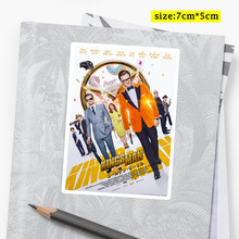 25Pcs/a pack Taron Egerton Rocketman Kingsman Movie Poster Stickers for Luggage Laptop Skateboard  Art Wall Decals Special Gifts