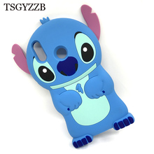Phone Case For Huawei Honor 8X Stitch Lovely Cartoon Coque 3D Fashion Cute Soft Silicon Cover Honor8X Fundas