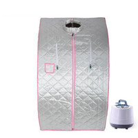 220V/110V Portable Personal Folding Sweat Steam Sauna SPA Tent Bath Slim Detox Weight Loss Indoor Sweating Steamer Room Bathtub