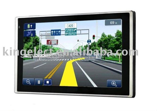 P610 Free Shipping 6.0 inch 800*480 Pixels Windows CE 5.0 Bluetooth AV-IN Movie Music E-Book Game MTK Car GPS