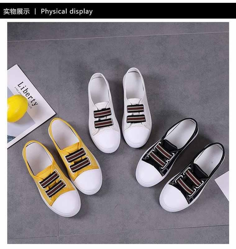 TOSJC ฤดูใบไม้ผลิสไตล์ใหม่ผู้หญิงรองเท้าสบายๆรองเท้าผ้าใบแบนรองเท้าผู้หญิงวัยรุ่นรองเท้าผ้าใบผู้หญิง zapatos de mujer