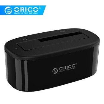 Внешний жесткий диск ORICO 2,5/3,5 дюйма, корпус для жесткого диска 6 ТБ, 5 Гбит/с, USB 3,0 на SATA, док-станция для HDD, корпус с поддержкой UASP