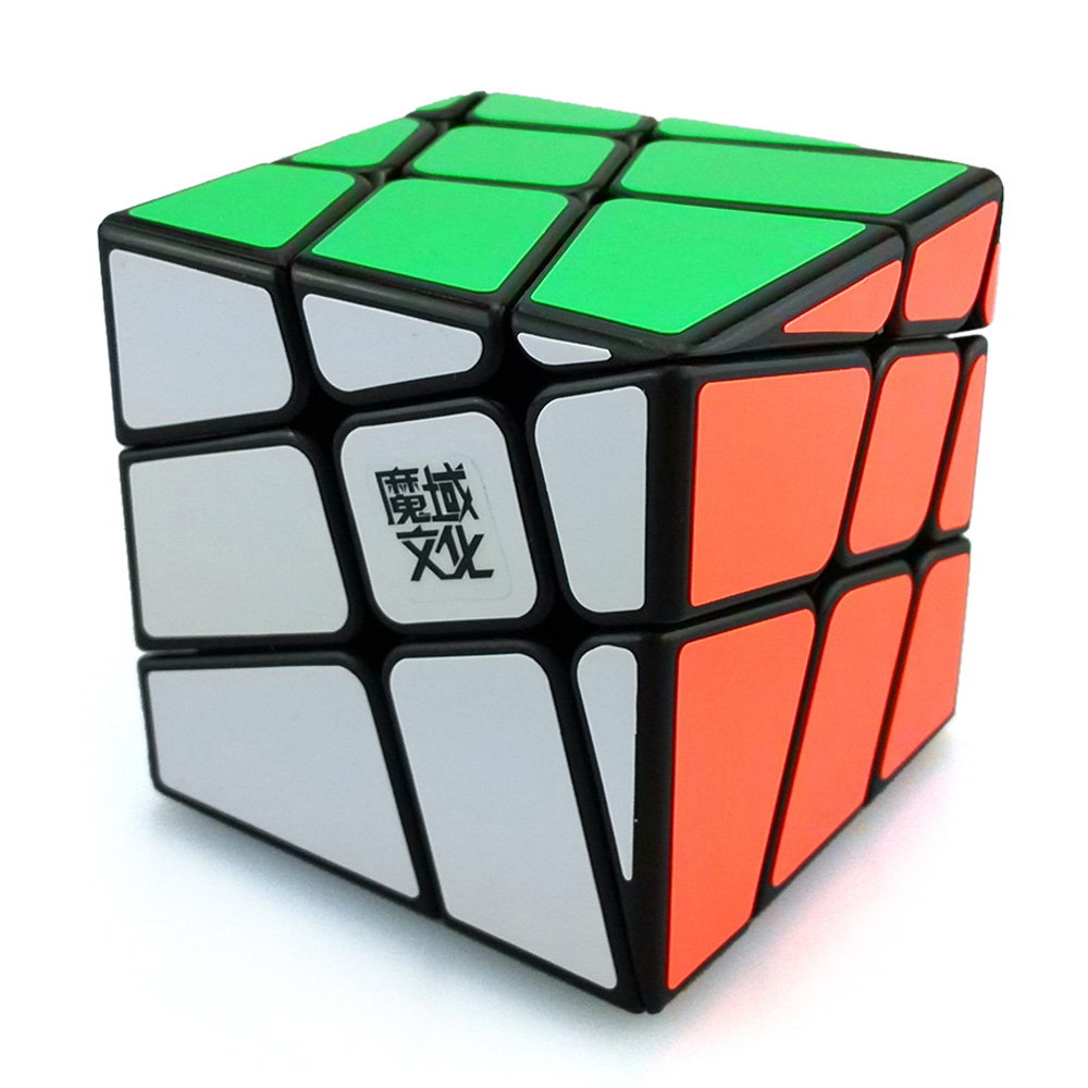 Original MoYu YJ8226 Crazy Hot Wheel 3x3x3 Odd Skew Magic Cube Speed Puzzle Cubes Kids Educational Toys chic flower shape embellished bright color felt cloche hat for women