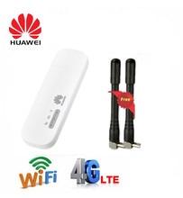 Разблокированный мобильный телефон Huawei E8372, внешняя идентификация, антенна 3G, 4G, LTE, 150 Мбит/с, Wi Fi роутер, USB модем, ключ, 4G, автомобильный Wi Fi модем