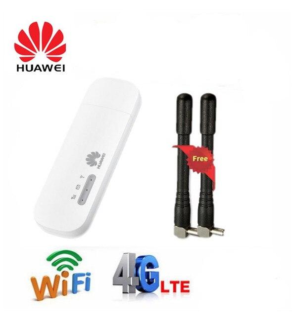 Unlocked Huawei E8372 E8372h 608 E8372h 153 E8372h 155  Antenna 3G 4G LTE 150Mbps WiFi router USB Modem Dongle 4G Car wifi Modem