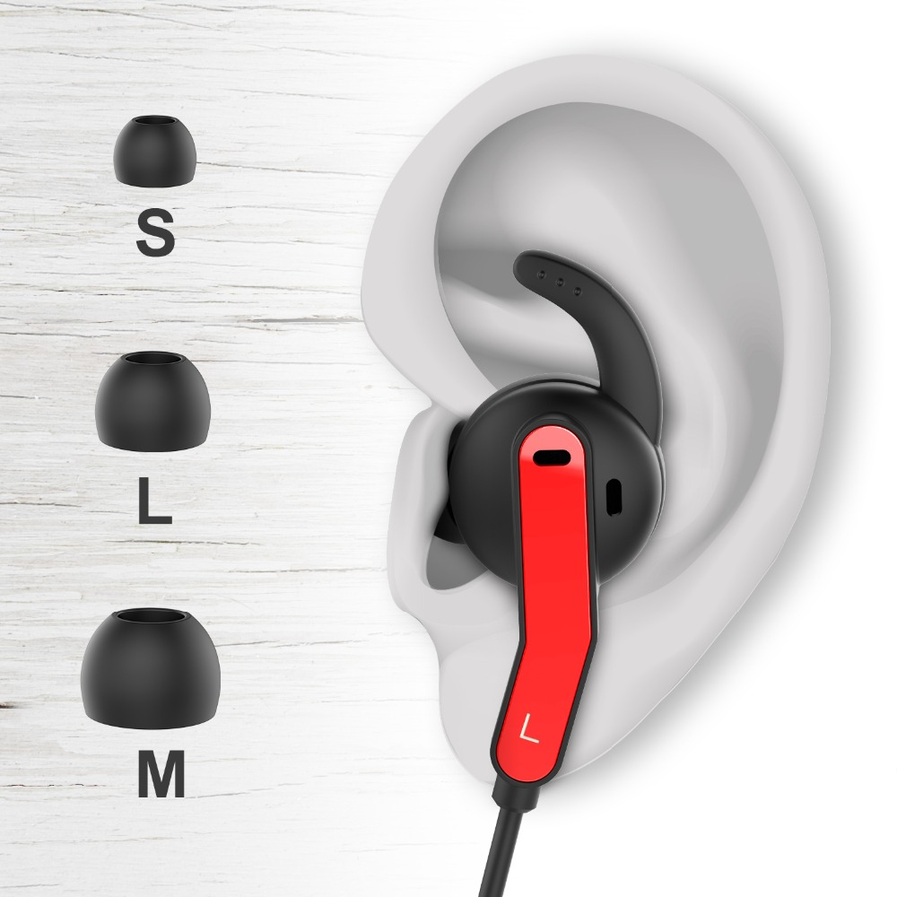 DOSS Cloud Fox S26 Bluetooth écouteurs sans fil Sport écouteurs étanche IPX5 stéréo casque Bluetooth 4.1 casque 8 H - 6