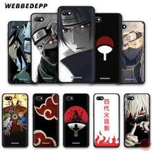 WEBBEDEPP Наруто Какаши японского аниме мягкий чехол для телефона для Redmi Note 8 7 6 5 Pro 4A 5A 6A 4X5 Plus S2 Go чехол s