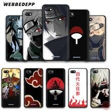 WEBBEDEPP Naruto Kakashi Japanese anime Soft Phone Case for