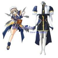 Mahou Shoujo Magical Girl Lyrical Nanoha Hayate Yagami Cosplay Costume Freeshipping
