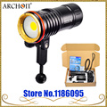 Archon DM10 WM16 led lumière vidéo sous-marine 2700lm 5000 k COB led lampe de poche de plongée 100 m étanche snoot kit torche de photographie