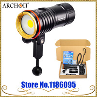 Archon DM10 WM16 led video light underwater 2700lm 5000k COB led diving flashlight 100m waterproof snoot kit photography torch