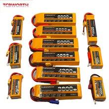 3S 11.1V RC LiPo Batterie 1300 1500 1800 2200 2600 3000 6000mAh 25C 35C 60C Pour Avion RC Quadrirotor Drone Avion 3S Batteries