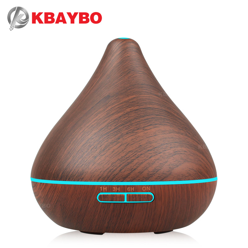 Air Humidifier Essential Oil Diffuser Aroma Lamp Aromatherapy Electric Aroma Diffuser Mist Maker for Home-Wood 300ml deep woodgrain humidifier essential oil diffuser aroma lamp aromatherapy electric aroma diffuser mist maker for home