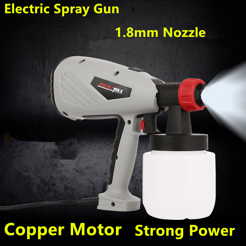 New 600w Electric Spray Gun Paint Spray Gun 800ml DIY 1.8mm electric spray gun HVLP sprayer Control Spray Power Paint Sprayers car washing paint electric airless hvlp sat1257 brand spray gun spare parts sat1257