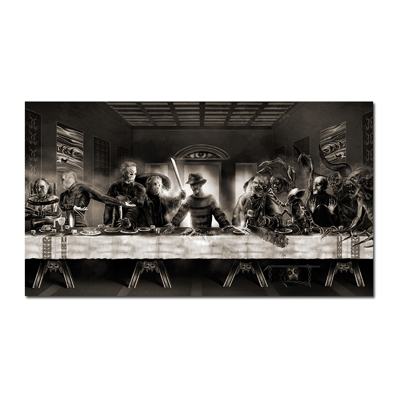 Avengers Infinity War Marvel The Last Supper Movie Art Silk poster 8x12 12x18