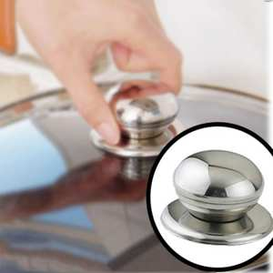 HOUSEEN Cookware Pan Pot Glass Lid Cover Handle Knob