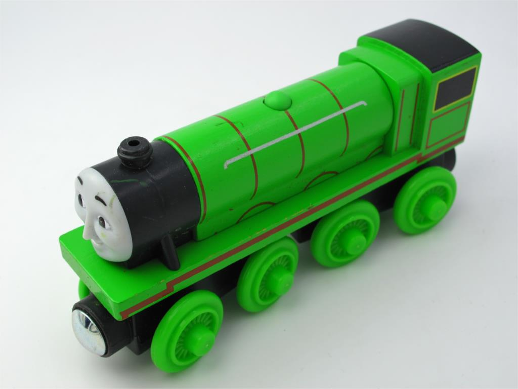 Wooden Thomas Train T068W HENRY Thomas And Friends Trackmaster Magnetic Tomas Truck Car Locomotive Engine Railway Toys for Boys