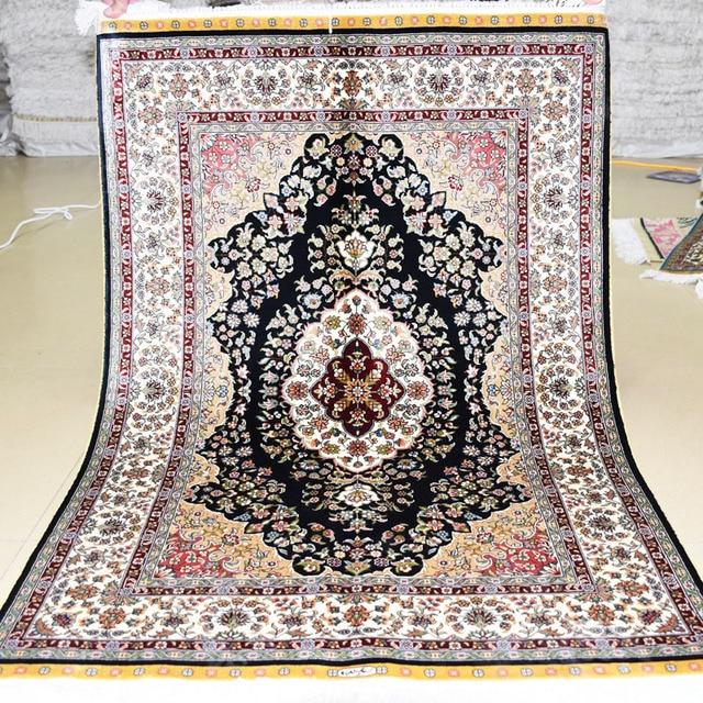 Mingxin tradicional tapete tabriz vantage for Alfombras estilo persa