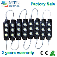 SMD5050 IP65 Waterproof LED Module 12V Back Lighting For Channel Letters Light Boxes Blak 200PCS Lot