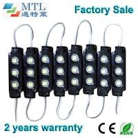 SMD5050 IP65 Waterproof LED Module 12V Back Lighting For Channel Letters Light Boxes Blak 200PCS Lot