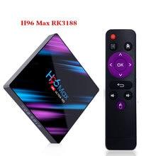 H96 MAX TV Box Android 9.0 Rockchip RK3318 4G 32 GB 64 GB US