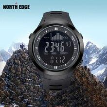 NORTHEDGE цифровые часы Мужские часы открытый рыбалка электронный высотомер барометр термометр высота восхождение туризм часов