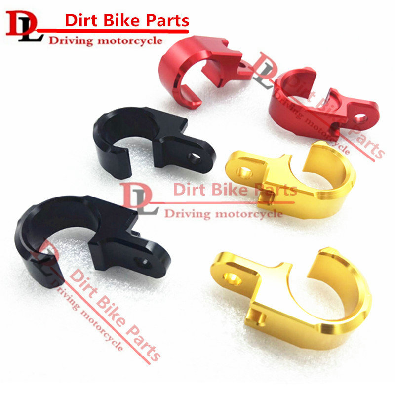 Fittings CNC Rear Brake Line Hose Clamp Holder for Honda CRF250L 3 Colors
