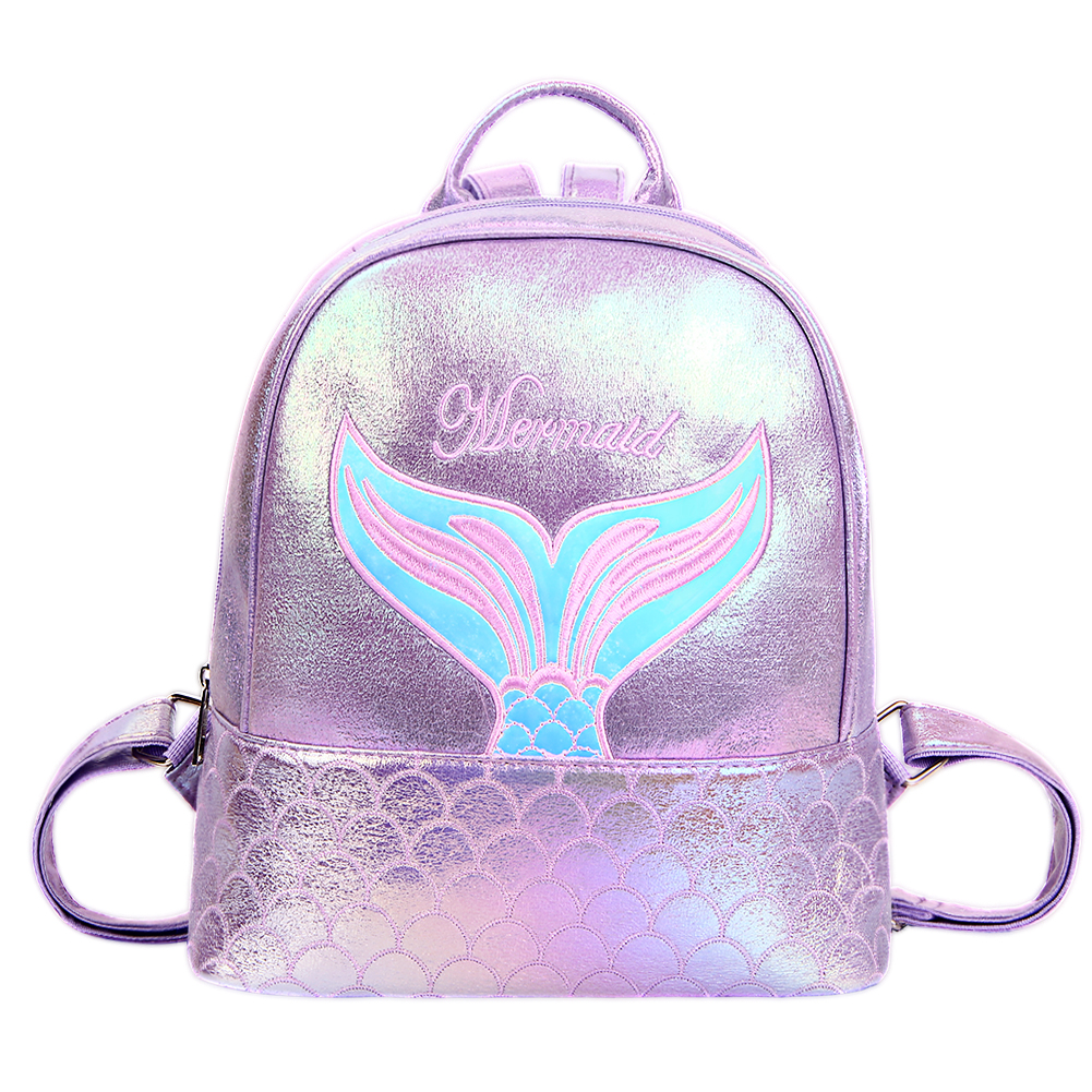 Fashion Embroidery Letters Crybaby Hologram Laser Backpack Women Soft PU Leather Backpack School Bags For GirlsFashion Embroidery Letters Crybaby Hologram Laser Backpack Women Soft PU Leather Backpack School Bags For Girls