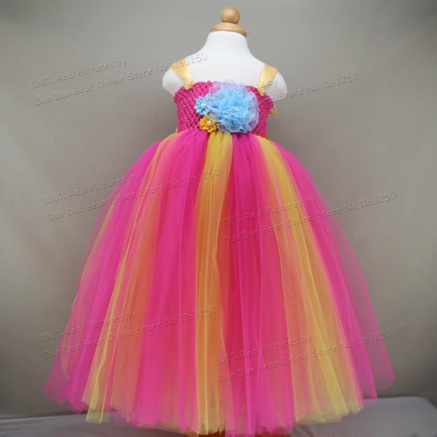 40bb7d90a5317 Beautiful Tutu 2 1 Year Girl Baby Birthday Dress Infant Princess Wedding Party  Baby Girl Clothes Girls 1st Birthday Dresses