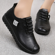 Flat shoes for women comfortable Lace-up Designer Ladies shoes flats Antiskid Hard-wearing Female shoes Spring/Autumn
