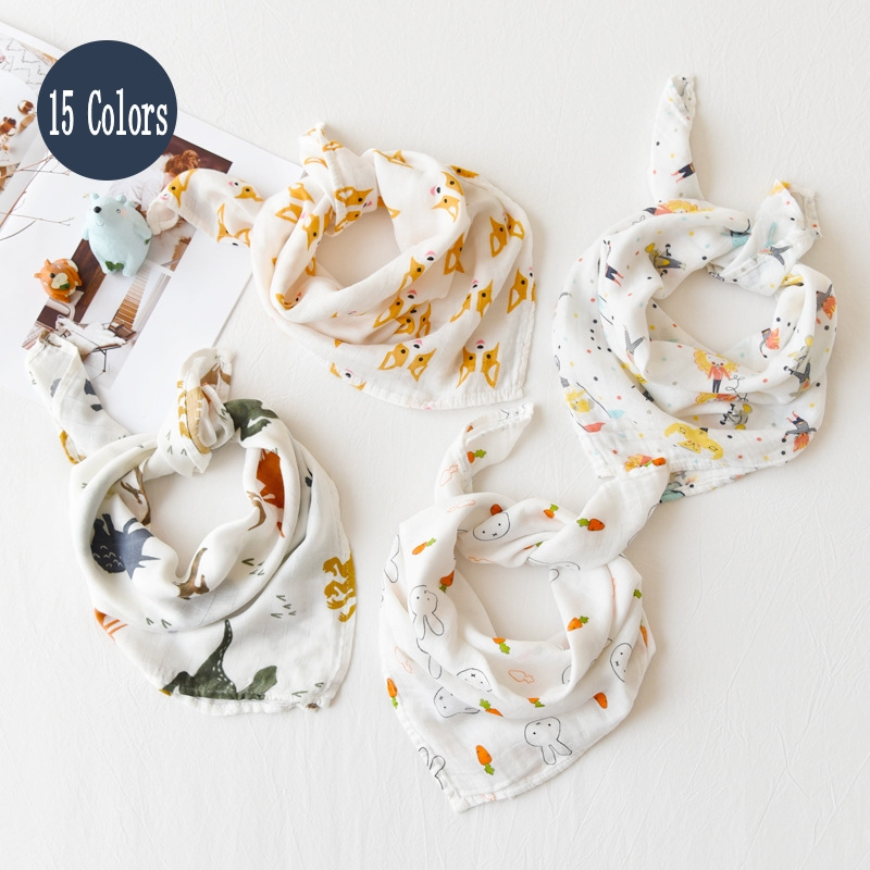 New Colors Baby Blanket Baby Soothing Towel Soft Bath Towel For Newborns Multi-use Baby Bib Burp Cloth Kid Scarf Handkerchief