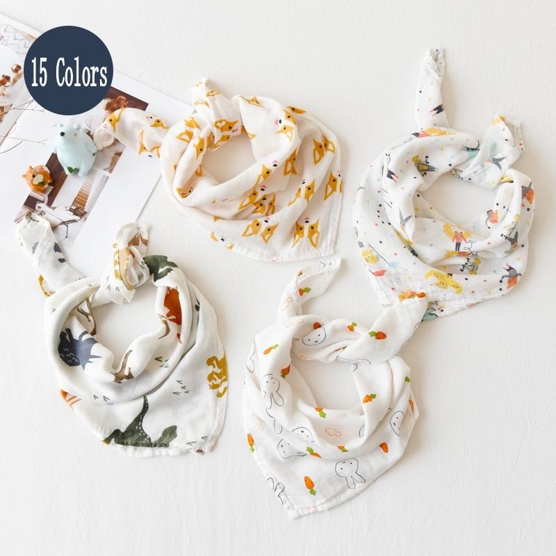 New Colors Baby Blanket Baby Soothing Towel Soft Bath Towel For Newborns Multi-use Baby Bib Burp Cloth Kid Scarf Handkerchief